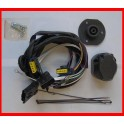 Faisceau specifique attelage PEUGEOT 4007 2007- 7 Broches montage facile prise attelage
