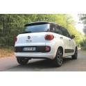 ATTELAGE FIAT 500L 2012- - RDSO demontable sans outil - attache remorque WESTFALIA