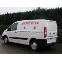 ATTELAGE Fiat Scudo II Fourgon 2007- (et Minibus) - Col de cygne - attache remorque WESTFALIA