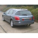 ATTELAGE PEUGEOT 407 BREAK 2008- (SW Type 6E) - RDSO demontable sans outil - attache remorque WESTFALIA