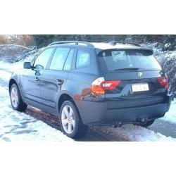 ATTELAGE BMW X3 2004-2010 (E83) - RDSO demontable sans outil - attache remorque WESTFALIA