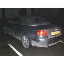 ATTELAGE AUDI A4 Cabriolet 2005- (8HE et S-line) - RDSO demontable sans outil - attache remorque WESTFALIA